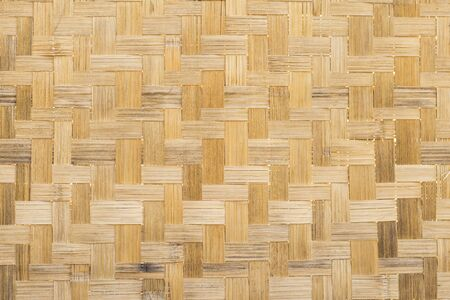 Bamboo pattern background, black old bamboo wood texture background Stok Fotoğraf
