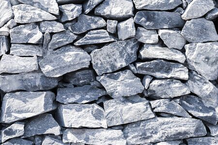 Stone wall background, vintage cool tone style