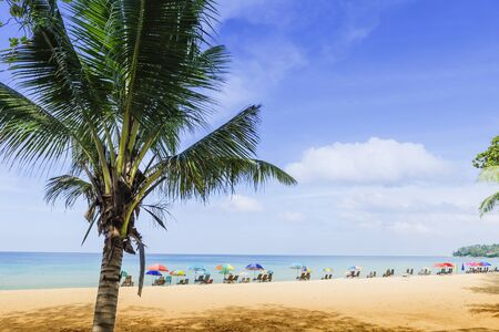 Summer beach, holiday and vacation destination, tourist attraction in southern Thailand, paradise island, summer outdoor day light