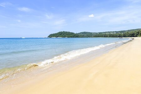 Empty beach in south of Thailand, paradise island, holiday and vacation destination in Asia, summer outdoor day light Reklamní fotografie