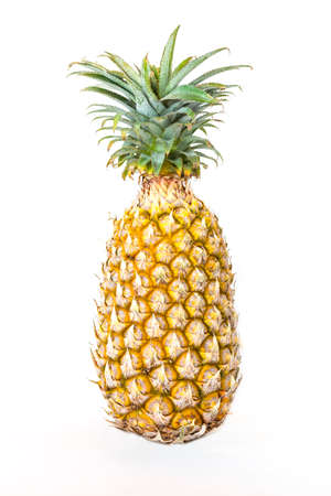 Fresh pineapple isolate on white background