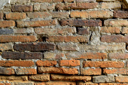 Background of brick wall pattern. Old brick wall in a background image