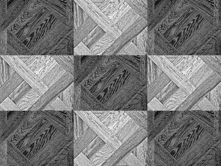 Black and white textures wooden planks background. Collage designer. Parquet. Oak.