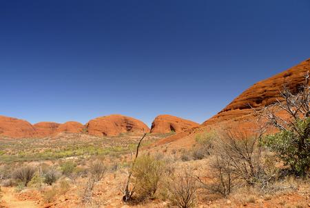 KATA TJUTA, AUSTRALIA - The Olgas in the center of Australia - Alice Springs