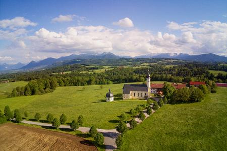 Pilgrimage Church Irschenberg Wilparting in bavaria