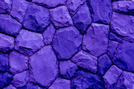 overbuilding: stone wall texture background blue tone