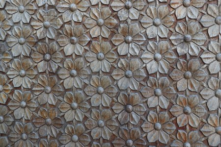 wooden rose pattern used for background work 写真素材