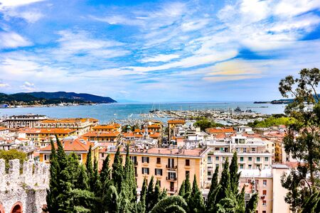 exploring the costal port city of La Spezia, which is in the Liguria region of Italy next to the  Cinque Terra
