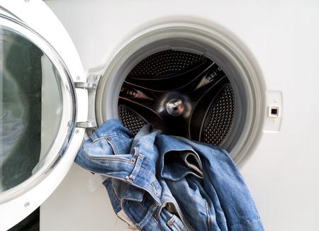 overburden: clothes in washing machine