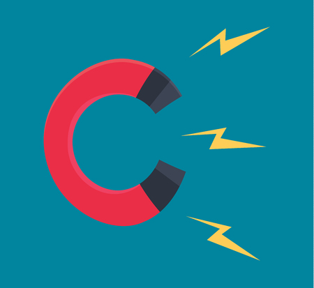 magnetize: Working Magnet Illustration