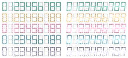 Calculator Numbers Illustration 2 Colorful