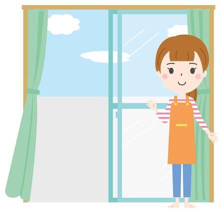 Ventilation Open Illustration 1