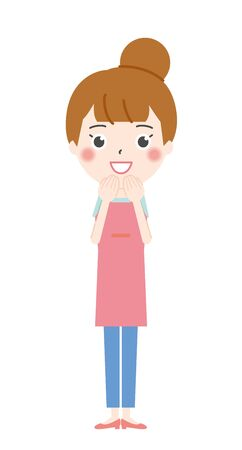 Happy Housewife Illustration 2