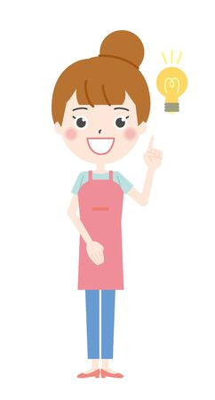 Illustration 2 of the Housewife who flashed Ilustração
