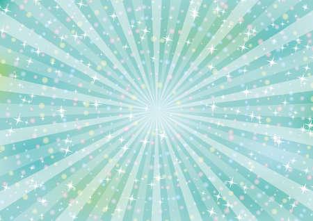 Clip art of shower of falling light