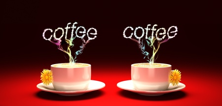 drink  a cup of aromatic coffee  photo