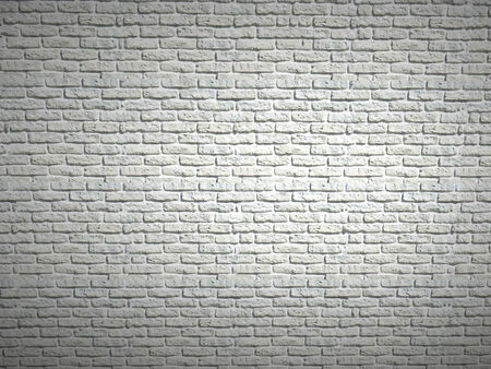 dilapidated wall: Dilapidated wall of white bricks Stock Photo