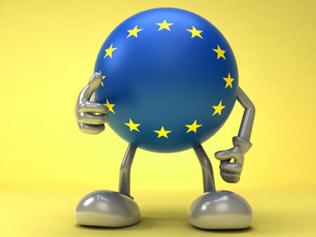 Successful cooperation with EU Stock Photo
