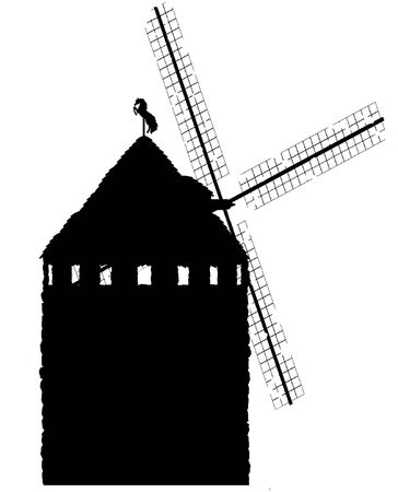 delabr�: Old Style Windmill