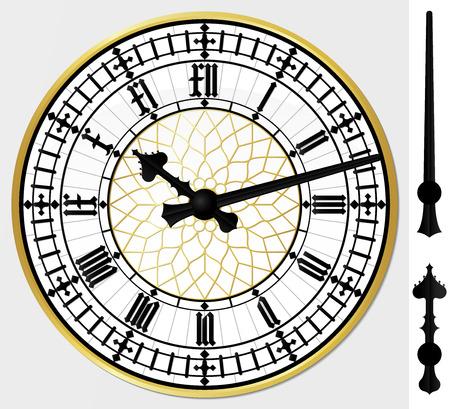 large: Big ben clock