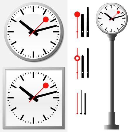 orologio da parete: Orologio da stazione - orologio da parete