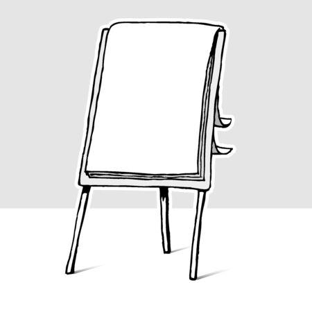 flipchart: Flip-chart Illustration