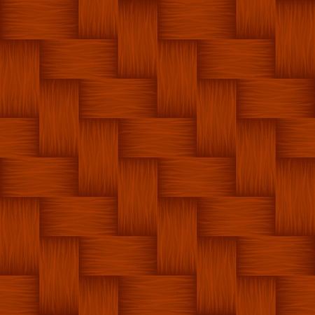 Basketwork pattern - seamless - vector Vector