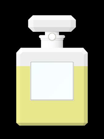 Perfume flask Stock Vector - 4009912
