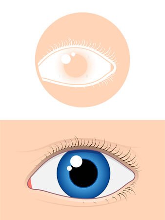 cilia: Eye pictogram