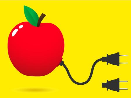 unplugged: De manzana fresca con conector plug