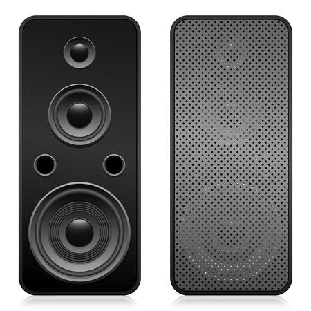 Set of speakers Stock Vector - 5371012