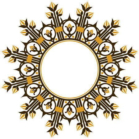 Art deco design element border