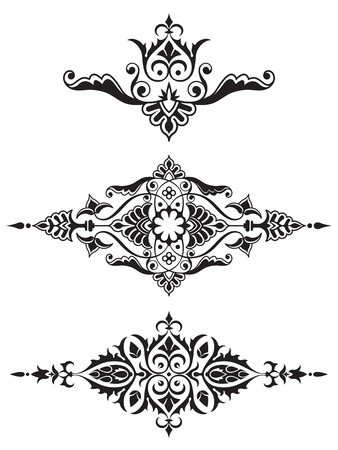 Ornamental design element collection