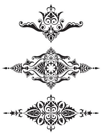 Ornamental design element collection