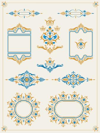 Classic ornamental frame set