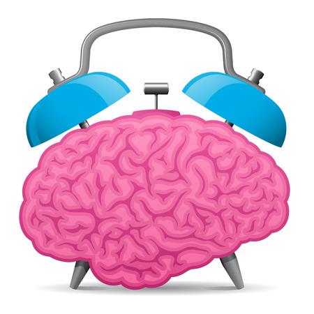 intellect: Vintage sveglia cervello