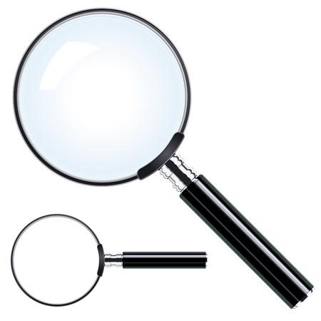 Magnifying glass Stock Illustratie