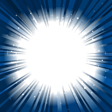 Star burst background copy space Vector