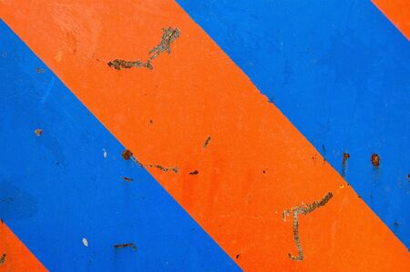 Industrial metal surface macro. Scratched paint and rust background.