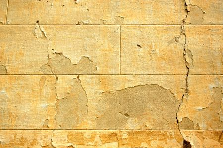 19th century: Abandoned late 19th century building ruins. Weathered wall detail.