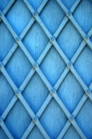 Metal window shutter detail. Abstract background texture. photo