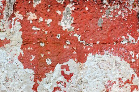Weathered wall texture. Grungy peeling paint background pattern. Stock Photo - 4223105
