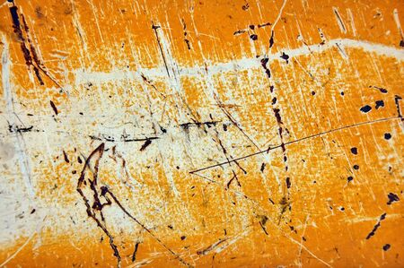 Scratched metal sheeting surface. Abstract industrial texture. photo