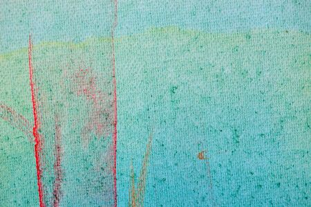 Smudged paint colors on canvas background. Abstract painting. Stock Photo - 6597556