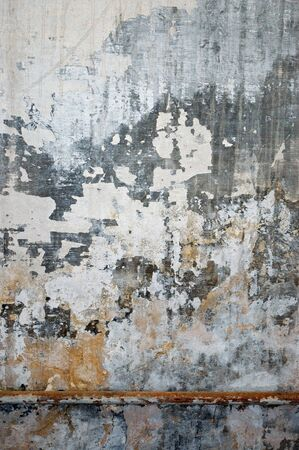 Old grungy wall texture. Peeling stained surface background. Stock Photo - 8953262