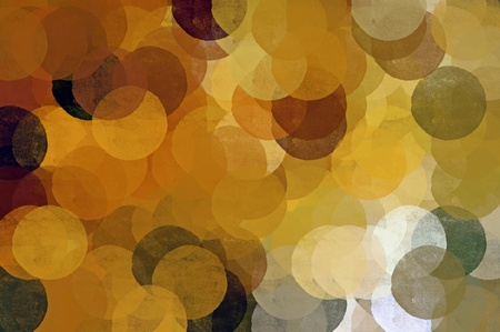 transparent brush: Circles background illustration. Brush painted impressionist abstract spherical shapes. Stock Photo