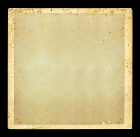 Vintage blank dirty photo with white border. Grunge background design element. Stock Photo - 10486852