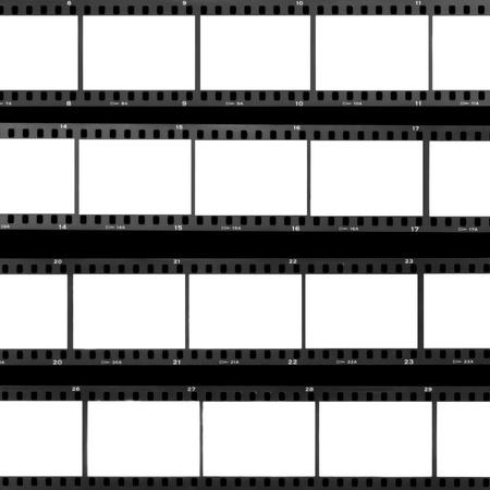cinta pelicula: Blank film frames sobreexpuesta contacto fondo hoja tira de pel�cula anal�gica.