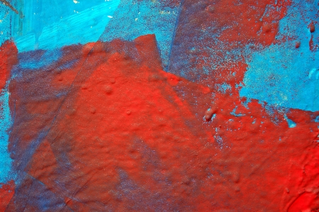 Abstract paint smudged wall colorful grunge background texture. Stock Photo - 16452300