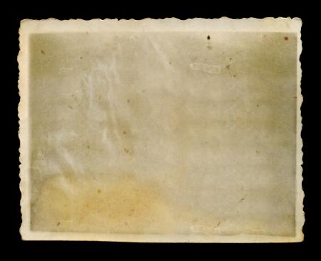 골동품 들쭉날쭉 흰색 테두리 배경 텍스처와 빈 그런 지 사진을 버렸다. 스톡 콘텐츠